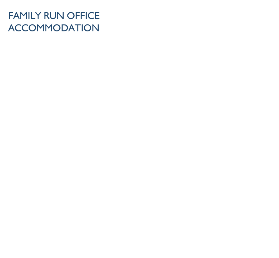 Family Run office accommodation